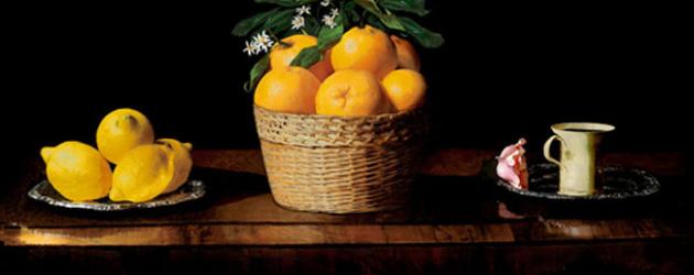Natura Morta Con Limoni Arance E Una Rosa De Zurbar 225 N