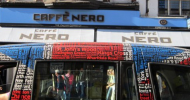 Caffè Nero e surfing a Londra