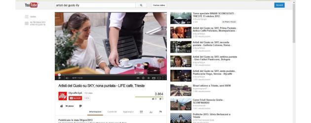 Le aziende del caffè sbarcano su YouTube