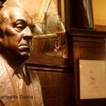 Busto di Borges_Cafe Tortoni_Foto Marinella Zonta