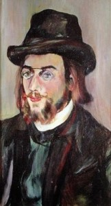 Portrait of Erik Satie_Ritratto di Suzanne Valadon